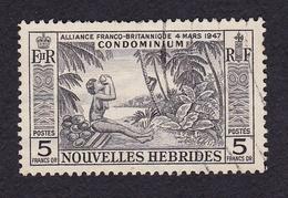 Nouvelles Hébrides1957OAlliance Franco-britannique - CondominiumY&T185 - French Legend