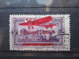 VEND BEAU TIMBRE DE POSTE AERIENNE DU GRAND LIBAN N° 34 !!! - Gross-Libanon (1924-1945)