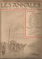 Journal LES ANNALES , 8 Novembre 1914 , Le Journal De La Guerre , Canon , Militaria  , Frais Fr : 2.50€ - Kranten