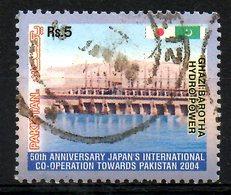 PAKISTAN. N°1177 De 2004 Oblitéré. Barrage Hydraulique. - Water