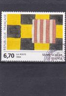 France Oblitéré  1994  N° 2858   Oeuvre De Sean Scully - Oblitérés