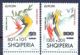 AL 2001-2784-5, SAVE KOSOVO ALBANIA, 1 X 2v, MNH - Albanien