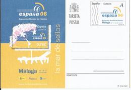 España 2006. Tarjeta Entero Postal Tarifa A. Exposición Mundial De Filatélia. - Interi Postali