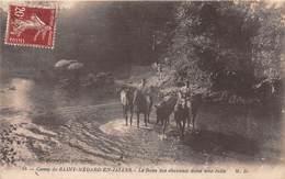 Camp De SAINT MEDARD EN JALLES - Le Bain Des Chevaux Dans Une Jalle - Otros Municipios