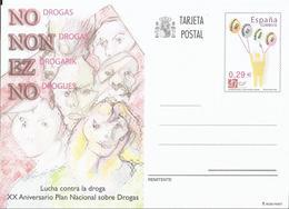 España 2006. Tarjeta Entero Postal XX Aniversario Plan Nacional Sobre Drogas. - Interi Postali