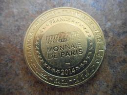Médaille Abbaye Hautecombe Savoie 2014 - Monnaie De Paris