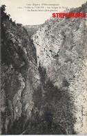 CPA 04 : GORGE DU RAVIN DU PAS DE LATOUR - CARTE NEUVE - VALLÉE UBAYE - Alpes Pittoresques - édition Louis Bonnet - France