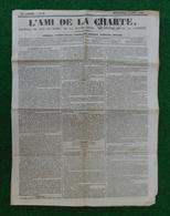 Journal L'Ami De La Charte Daté Novembre 1842 - Puy De Dôme - Haute Loire - Cantal - Corrèze - 1800 - 1849
