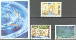 AL 2001-2809-11 EUROPA CEPT, ALBANIA 1 X 3v + S/S, MNH - Europa-CEPT