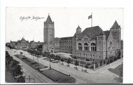 Pra095 / POSEN (Poznan) 1916, Schlossansicht, Rückseitig Truppenübungsplatz - Allemagne
