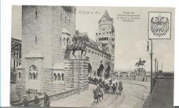 NRW125 / Köln 1911, Kürassiere Auf Der HoHenzollernbrücke - Allemagne
