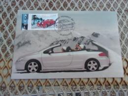 FRANCE (2003) Lancement PEUGEOT 307 CC - Maximum Cards