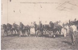 Lunéville  Carrousel De La Garnison Fete Du 7 Aout 1913 - Luneville