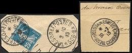 Cachet Trésor Et Postes  Aux Armées  - Casablanca - Marcophilie (Lettres)