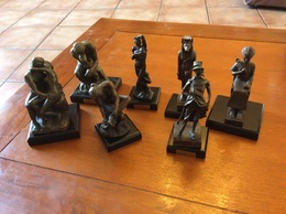 Lot De Reproduction  En Bronze - Bronzes