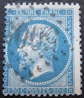 OE/297 - NAPOLEON III N°22 - GC 5005 : ALGER (ALGERIE) - 1862 Napoléon III