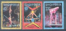 AL 2002-2866-9 EUROPA-CEPT, ALBANIA, 1 X 3v, MNH - Albanien