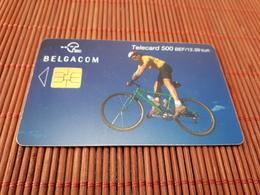 Phonecard Belgium 500 BEF Sport Bike Low Issue Rare - Mit Chip