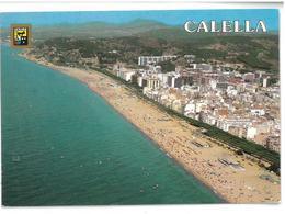 Spagna Calella (El Maresme) Vista Aerea Viaggiata 1992 - Spagna