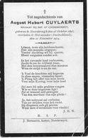 Cuylaerts A.h.( Gesneuveld - Noorderwijk 1893 - Holsminder 1914) - Religion & Esotérisme