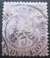 OE/300 - SAGE TYPE II N°95 - CàD : SAINT HILAIRE DU HARCOUET (Manche) 20 MAI 1883 - Cote : 90,00 € - 1876-1898 Sage (Type II)