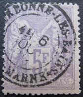 OE/301 - SAGE TYPE II N°95 - CàD : BOURBONNE LES BAINS (Haute Marne)6 AOÛT 1888 - Cote : 90,00 € - 1876-1898 Sage (Type II)