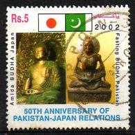 PAKISTAN. N°1066 Oblitéré De 2002. Bouddha. - Buddhism