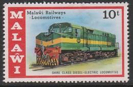 Malawi 1976 Malawi Locomotives 10t - Malawi (1964-...)
