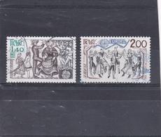 France Oblitéré  1981  N° 2138/2139   Europa.  Folklore - Oblitérés