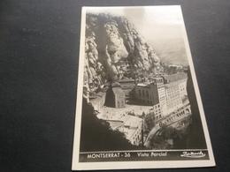 MONTSERRAT - VISZTA PARCIAL - VIA AEREA - COLONIA PUIG - 1952 - Spanien
