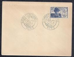 Enveloppe Locale Journée Du Timbre 1945 Nice - France