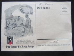 Postkarte Postcard DRK / German Red Cross - Erhaltung II - Briefe U. Dokumente