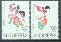 AL 1998-2648-9 EUROPA CEPT, ALBANIA, 1 X 1v, MNH - Albanien