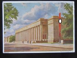 Postkarte Postcard Haus Der Deutschen Kunst - Feldpost 1942 - Erhaltung II - Deutschland