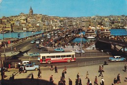 TURCHIA ISTAMBUL PANORAMA   VIAGGIATA - Turchia