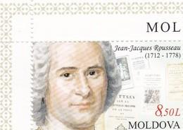 3 * Timbres 2012 Dont J.J. Rousseau - Moldavie