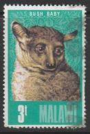 Malawi 1975 Animals 3t Multicoloured SW 250 O Used - Malawi (1964-...)