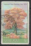 Malawi 1979 National Tree Planting Day 5t Multicoloured SW 320 O Used - Malawi (1964-...)