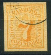 "ALLEMAGNE/HANBOURG ( POSTE ) : Y&T N°  19  ""  FAUX    ""  TIMBRE  OBLITERE . - Hamburg"