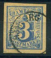 "ALLEMAGNE/HANBOURG ( POSTE ) : Y&T N°  17  ""  FAUX    ""  TIMBRE  OBLITERE . - Hamburg"
