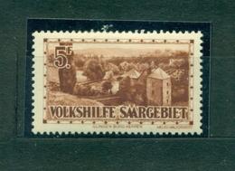 Saargebiet,Volkshife Nr.167 Falz* - Deutschland