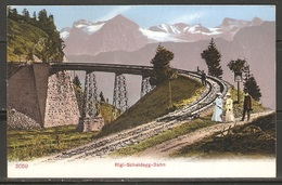 Carte P ( Suisse / Rigi-Scheidegg / Chemin De Fer ) - SZ Schwyz