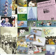 ITALIA 2001 -  Fiamme Gialle 2921-2001 - 4 Cartoline Con Annullo Speciale In Confezione Originale Di Poste Italiane - Cartoline Maximum
