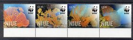 NIUE  Timbres Neufs ** WWF   ( Ref477 ) Mer - Coraux - Niue