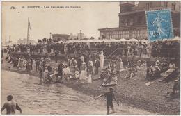 76 Le Havre La Rue De Paris  Et L Hotel De Ville  Dieppe Les Terrasses Du Casino  La Plage - Dieppe