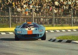 Gulf Mirage M1  -  1000 Kms Monza 1967  -  Pilotes: David Piper/Dick Thompson  -  Carte Postale - Le Mans