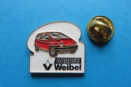 Pin's,GARAGE WEIBEL,RENAULT - Renault