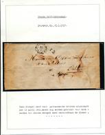 016/27 - NEDERLAND / BELGIQUE - Document IMPRIME EINDHOVEN Franco 1862 Vers ALOST , Puis OSTENDE - 1 Cent Noord Brabant - Pays-Bas