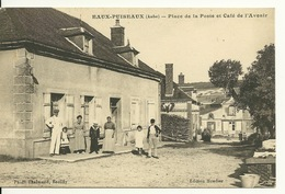 10 - EAUX PUISEAUX / PLACE DE LA POSTE ET CAFE DE L'AVENIR - Autres Communes