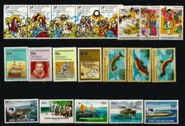 Lot De 20 Timbres Neufs  ILES COCOS En Séries Complètes, (including Barrel Mail,discovery In 1609,etc) Côte 35,00 € EUR - Cocos (Keeling) Islands